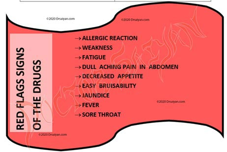 red flag signs of treatment of hyperthyroidism.
